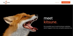 Kitsune, full stack framework for business websites